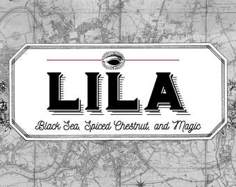 LILA Shades of Magic Trilogy Inspired Lila Bard Candle