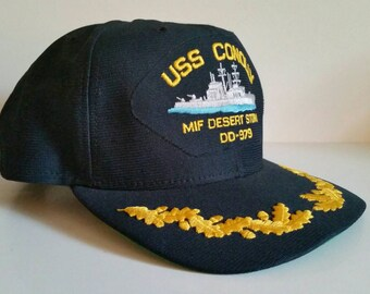 USS Conolly Desert Storm hat