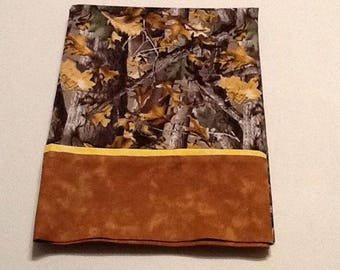 Camoflage Pillow Case for standard pillow