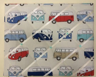 VW Camper Van memo photo board