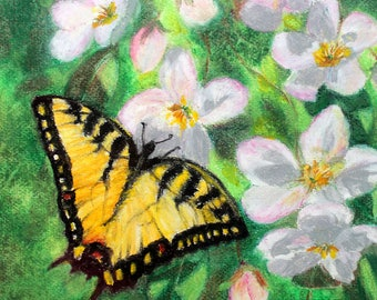 Pastel painting Butterfly