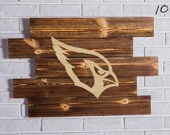 Arizona Cardinals  Wood Sign  Arizona Cardinals  Wall art  Arizona Cardinals  Gift  Arizona Cardinals  Birthday