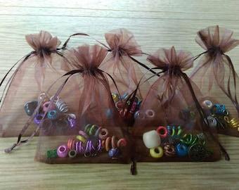 Dreadperlen beaded bags dreadschmuck hair accessories