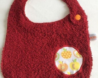 RED APPLES N4 BIB
