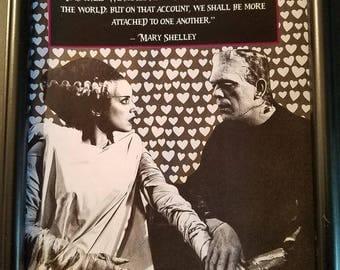 Frankenstein Monster and Bride