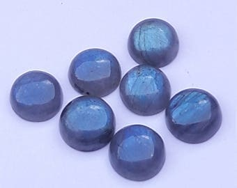 Labradorite 13 MM Round 7 Pc Lot Nice Quality Loose Gem Stone Labradorite Cabochon Gem Stone For Jewelry Making Labradorite Stone