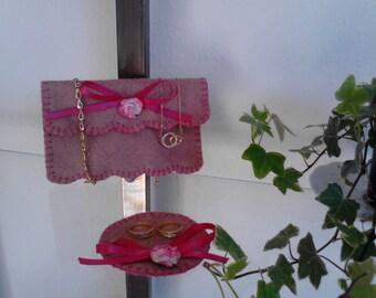 KIT Jewelry Accessories felt pouch
