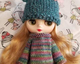 Middie Blythe Sweater and Hat Set