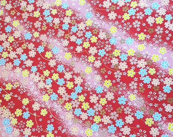 2 sheets A4 21x29.7cm Japanese Yuzen Washi Chiyogami Papers P270