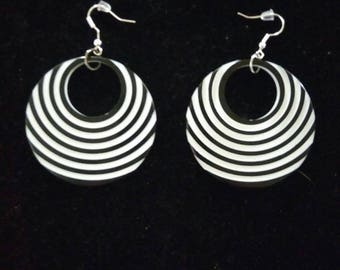 Optical Illusion Earrings