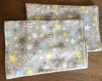 Star is Born Burp Cloths (2)