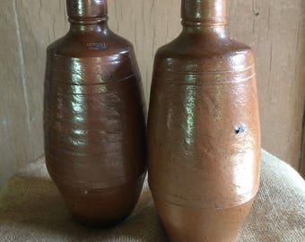 Vintage Portugese Beer Bottles