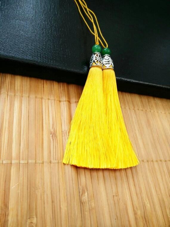 Pair Of 10 Cm Tassels For Earrings Necklace Handbag