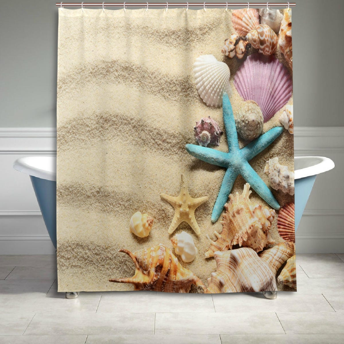 Starfish Bathroom Decor