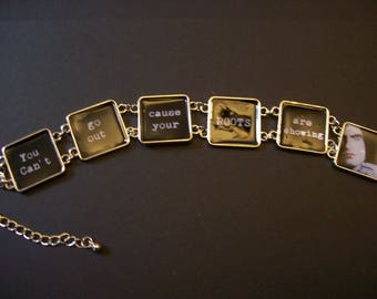 Type O Negative Inspired Picture Bracelet