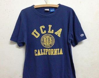 Vintage 90's Champion UCLA T-Shirts Size X-Large