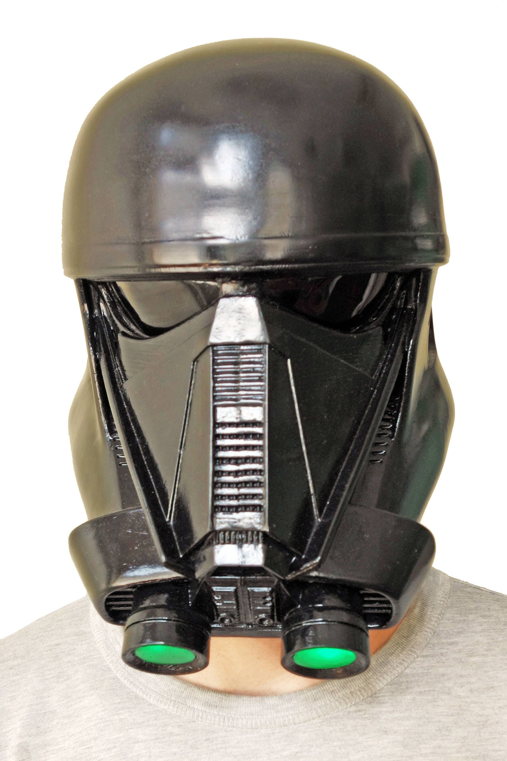 death trooper helmet with led 39 s from star wars rogue one. Black Bedroom Furniture Sets. Home Design Ideas