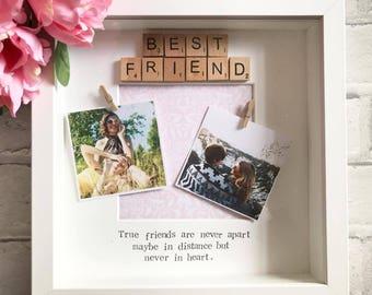 Best friend picture frame bestie frame christmas gift for best friend gift best friends gift for best friend gift for her negle Images