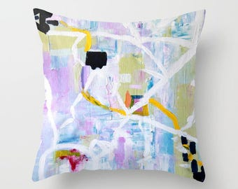 Abstract Throw Pillow - FREE Shipping -  design on both sides, abstract throw pillow, FREE Shipping