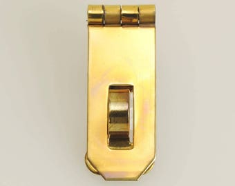 Solid Brass Hasp