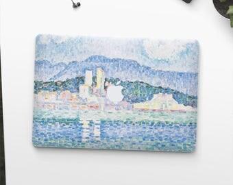 "Claude Monet, ""Antibes. Thunderstorm"". Macbook 15 skin, Macbook 13 skin Pro Air, Macbook 12 skin. Macbook decal. Macbook Art skin."