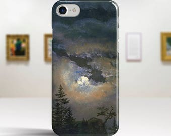 "Johan Dahl, ""A Cloud Study by Moonlight"". iPhone 8 Case Art iPhone 7 Case iPhone 6 Plus Case and more. iPhone 8 TOUGH cases Art iphone cases"
