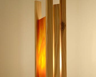Light wood and glass modern, to ask