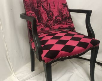 alice in wonderland furniture.  alice alice in wonderland club chair living room furniture pink home decor  entry for in furniture