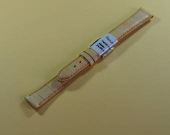 The brand fish 14 mm genuine leather watchband