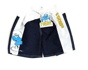 SMURFS fancy dress 5 short years (110 cm) baby