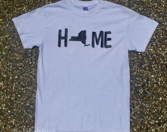 New York Home T-Shirt, New York Home, New York Shirt, New York T-Shirt, Home New York, From New York, New York Local