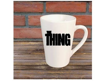The Thing Horror Mug Coffee Cup Halloween Gift Home Decor Kitchen Bar Gift for Her Him Any Color Personalized Custom