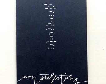 Morse Code Constellation Plain Journal