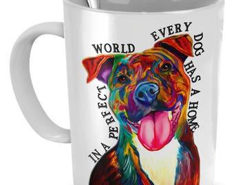 Perfect Mug, the Perfect Drinking the Coffee - 11oz Mug - Ceramic Mug White