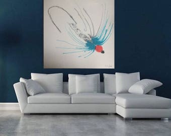 Fly Fishing 2 | Contemporary Ocean Art