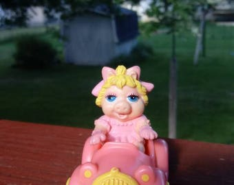 Vintage 1986 Miss Piggy McDonald's Happy Meal Toy, Ms. Piggy