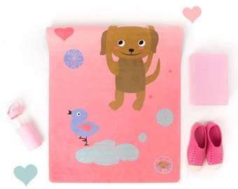 yoga mat for kids *** eco-conscious + adorable *** from duck duck dog