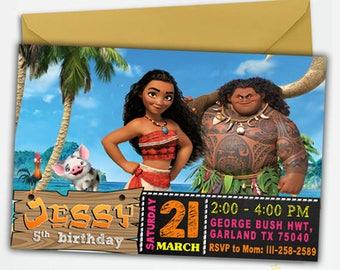 Moana Invitation Digital,Moana,Moana Invitation,Moana Birthday,Moana Birthday Invitation,Moana Birthday Party,Moana Birthday Invites
