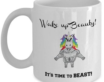 Inspirational Mug   Unicorn Coffee Mug    Gift for Her