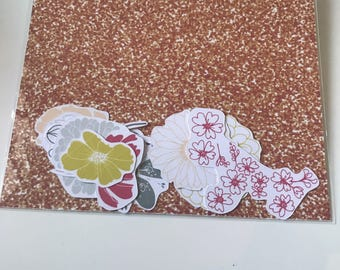 Flowers - Die Cuts / Scrapbooking / Journaling
