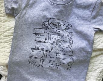 Tea with Tolkien Toddler & Youth Tee in Heather Grey (Second Edition)