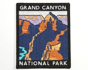 Official Grand Canyon National Park Souvenir Patch Arizona Iron-on FREE SHIPPING Scrapbooking