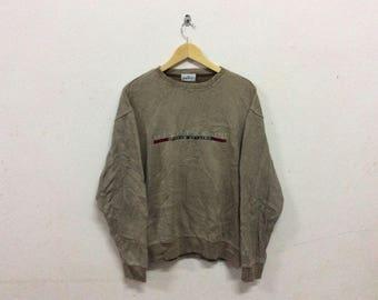Vintage Sergio Tacchini Sport Stylish Codruy Sweatshirt
