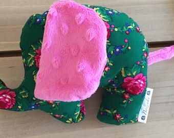 Green Goralski Fabric Elephant Plush Toy