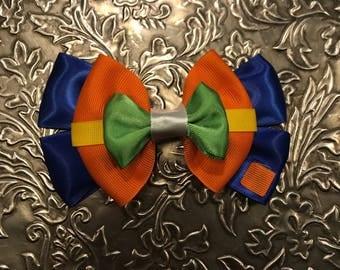 Goofy Inspired Hair Bow