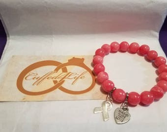 Breast Cancer Awareness  (Handmade w/love)