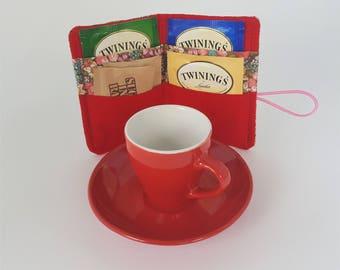 Floral Tea Wallet