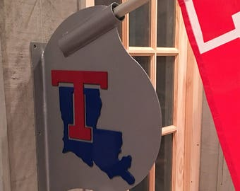 Louisiana Tech Flag Holder