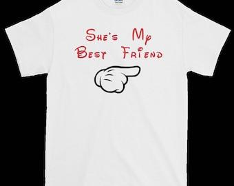 She's My Best Friend Shirt