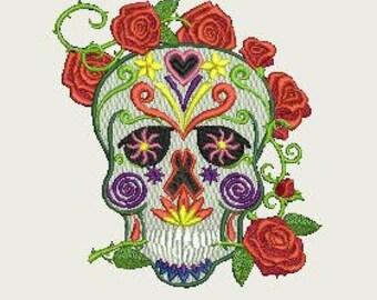Sugar Skull  - Hoop 220x220
